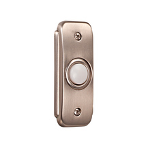 Craftmade BR2-PW - Stepped Rectangle Lighted Push Button
