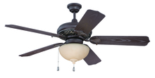 "Craftmade K10335 - Outdoor Mia 52"" Ceiling Fan Kit in Aged Bronze/Vintage Madera"