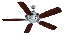 "Craftmade VS60SS5 - Vesta 60"" Ceiling Fan with Blades and Light in Stainless Steel"