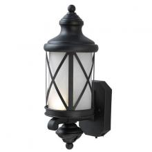 "Canarm IOL205BK - Sonoma, IOL205BK, Outdoor Uplight, Seeded Water Mark Glass, 100W Type A, 6 1/2"" x 17 1/4"" x"