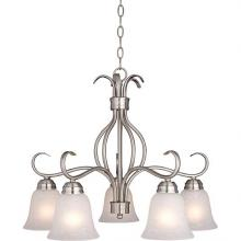 Maxim 10124ICSN - Basix-Down Light Chandelier