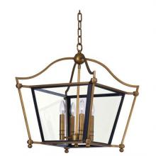 Maxim 22395CLNAB - Ritz-Single-Tier Chandelier