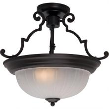 Maxim 5833FTOI - Essentials 2-Light Semi-Flush Mount