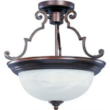Maxim 5843MROI - Essentials 2-Light Semi-Flush Mount