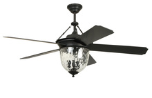 "Craftmade CAV52ABZ5LK - Cavalier 52"" Ceiling Fan with Blades and Light in Aged Bronze Brushed"