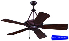 "Craftmade ME52OB - Metro 52"" Ceiling Fan in Oiled Bronze (Blades Sold Separately)"