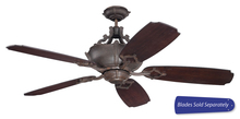 "Craftmade WXL52AG - Wellington XL 52"" Ceiling Fan in Aged Bronze Textured (Blades Sold Separately)"