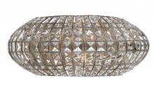 Crystorama 342-SA - Crystorama Solstice 2 Light Antique Silver Sconce