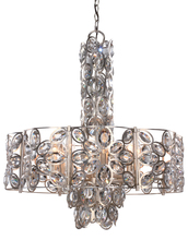 Crystorama 7588-DT - Crystorama Sterling 8 Light Distressed Twilight Chandelier