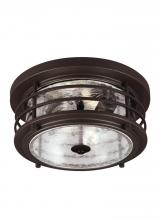 Sea Gull Canada 7824402-71 - Two Light Outdoor Ceiling Flush Mount