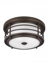 Sea Gull Canada 7824491S-71 - LED Outdoor Ceiling Flush Mount