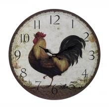 Sterling Industries 118-031 - Rooster Clock - Large