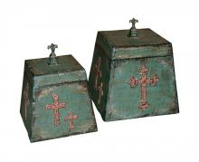 Sterling Industries 51-1160 - SET/2 MONASTARY BOXES