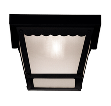 Savoy House Canada 07044-BLK - Exterior Collections Flush Mount