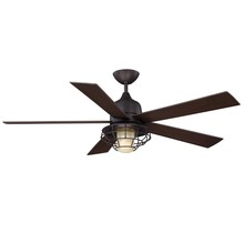 "Savoy House Canada 52-624-5CN-13 - Hyannis 52"" Damp Location Ceiling Fan"