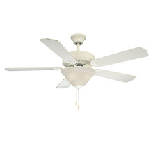 Savoy House Canada 52-ECM-5RV-WH - First Value Ceiling Fan