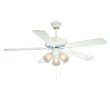 Savoy House Canada 52-EUP-5RV-WH - First Value Ceiling Fan