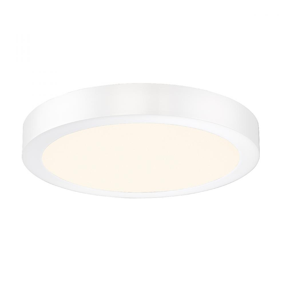 PINE LIGHTING in Kelowna, British Columbia, Canada,  403219E, BRANT,LARGE ROUND LED FLUSH,WT, BRANT