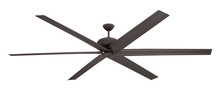 "Ellington Fan COL96ESP6 - Colossus 96"" Ceiling Fan with Blades in Espresso"
