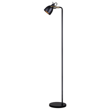 Canarm IFL680A68BKG - ARCHIE, IFL680A68BKG, BK + Gold Color, 1 Lt Floor Lamp, On-Off Switch On Socket, 100W Type A, 11&#34