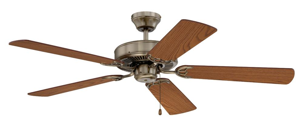 "PINE LIGHTING in Kelowna, British Columbia, Canada,  5W2JL, 52"" Promotional CEILING FAN, Builder Choice"