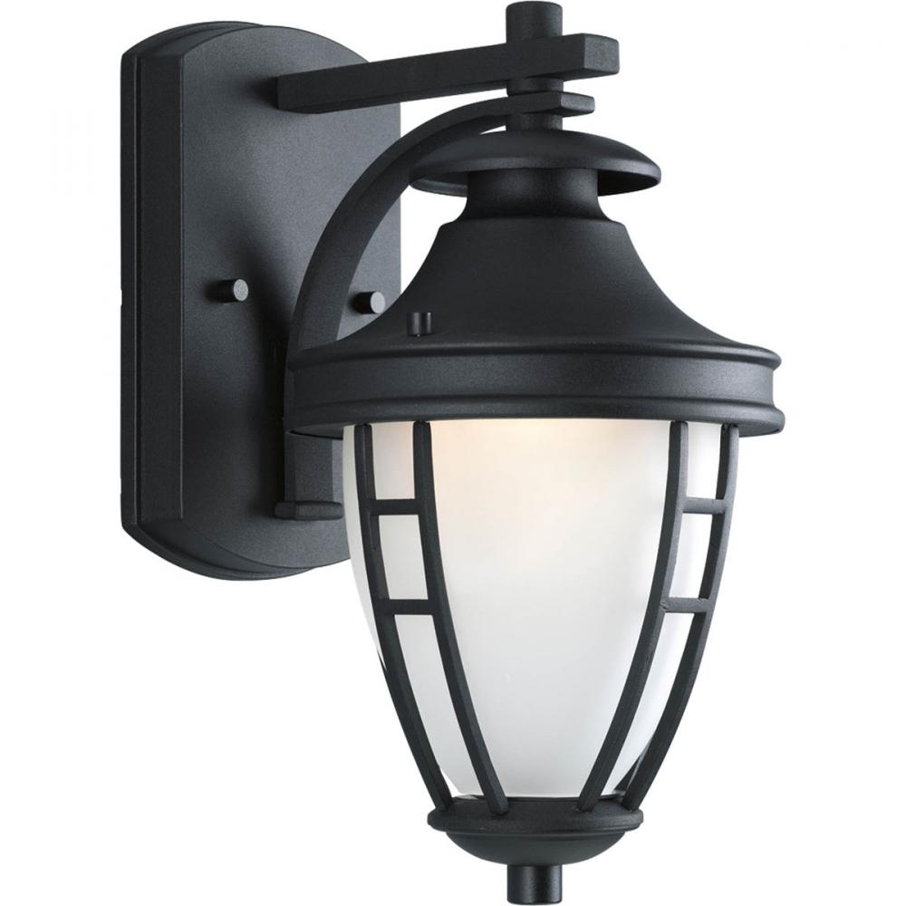 PINE LIGHTING in Kelowna, British Columbia, Canada,  6FGPL, One Light Black Wall Lantern, Fairview