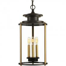 Progress P550012-020 - Three-light hanging lantern