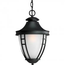 Progress P5547-31 - One Light Black Hanging Lantern