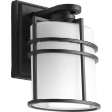 "Progress P6062-31 - 1-Lt. Wall Lantern  (6"") with Etched glass"
