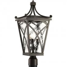 Progress P6442-108 - P6442-108 3-60W CAND POST LANTERN