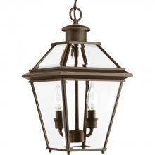 Progress P6537-20 - P6537-20 2-60W CAND HANGING LANTERN