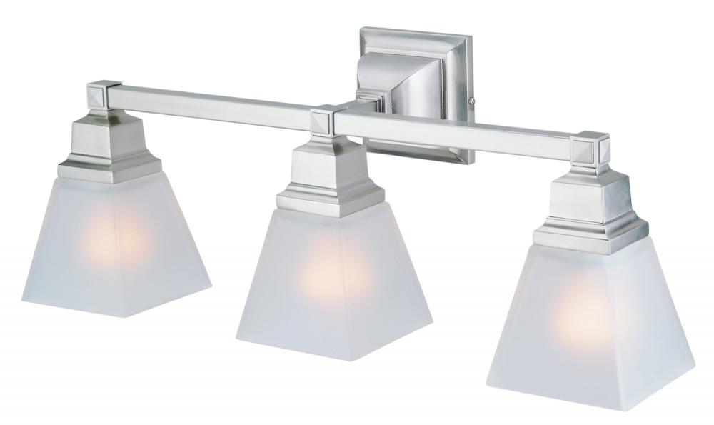 Three Light  Vanity
