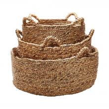 Dimond 784083 - Natural Low Rise Baskets - Set of 3