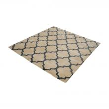 Dimond 8905-055 - Wego Handwoven Printed Wool Rug In Natural And B