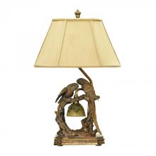 Dimond 91-507 - Twin Parrots Table Lamp in Atlanta Bronze