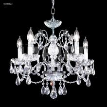 James R Moder 40285S22 - Regalia 5 Arm Chandelier