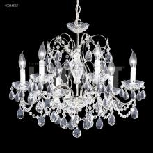 James R Moder 40286S22 - Regalia 6 Arm Chandelier