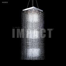 James R Moder 40403S22 - Crystal Rain Entry Chandelier