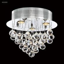 James R Moder 40413S22 - Crystal Rain Flush Mount