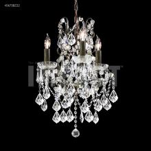 James R Moder 40673BZ22 - Charleston 3 Arm Chandelier