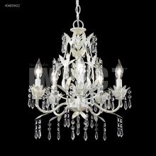 James R Moder 40685W22 - 5 Arm Mini Crystal Chandelier