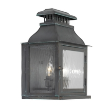 ELK Lighting 1300-OB - Two Light Verde Patina Wall Lantern