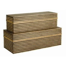 Arteriors Home 2222 - Trinity Boxes, Set of 2