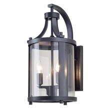 DVI DVP4472HB-CL - Niagara 14.75 inch outdoor wall sconce