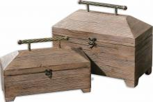 Uttermost 19653 - Uttermost Tadao Natural Wood Boxes, Set/2