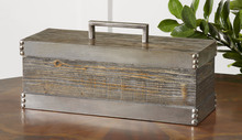 Uttermost 19669 - Uttermost Lican Natural Wood Decorative Box